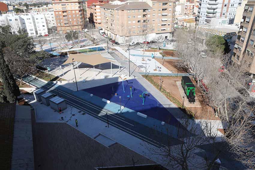 Parque de La Panderola en el Grau de Catelló